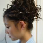 fryzura na imprezę fryzjer