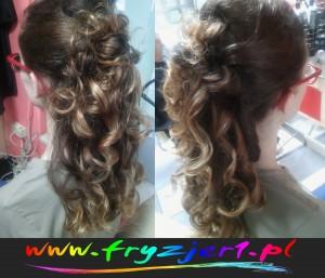 fale włosów