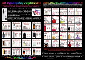 orginalne perfumy w próbkach