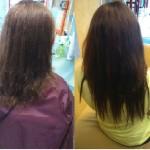 przedłużąnie włosów długie