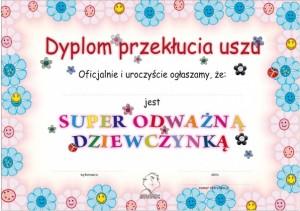 dyplom dla dziecka
