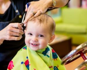 cięcie włosów dzieci