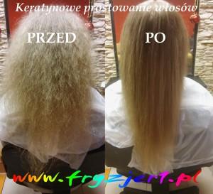 prostowanie włosów sowex