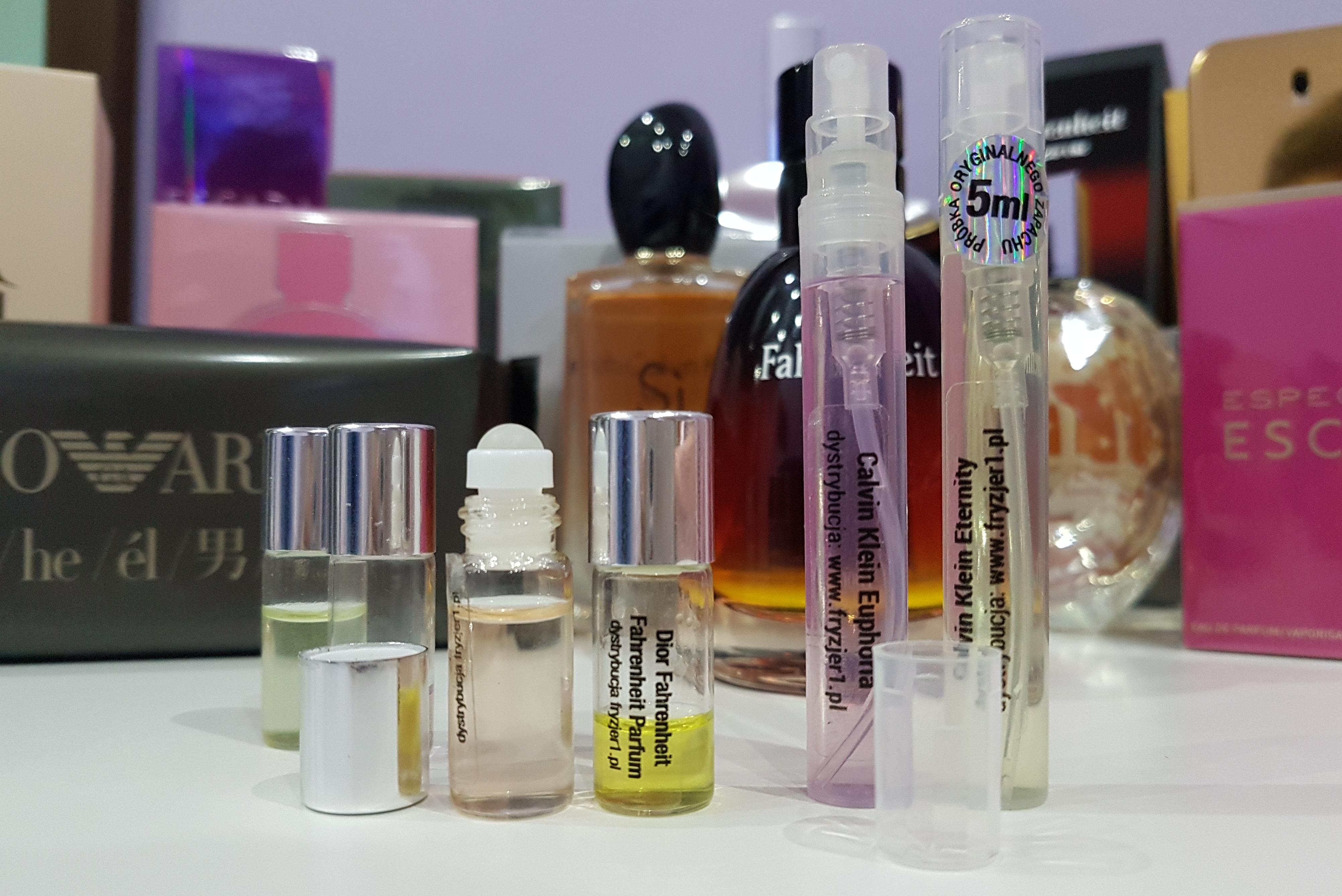 Perfumy I Próbki Oryginalnych Perfum Fryzjer