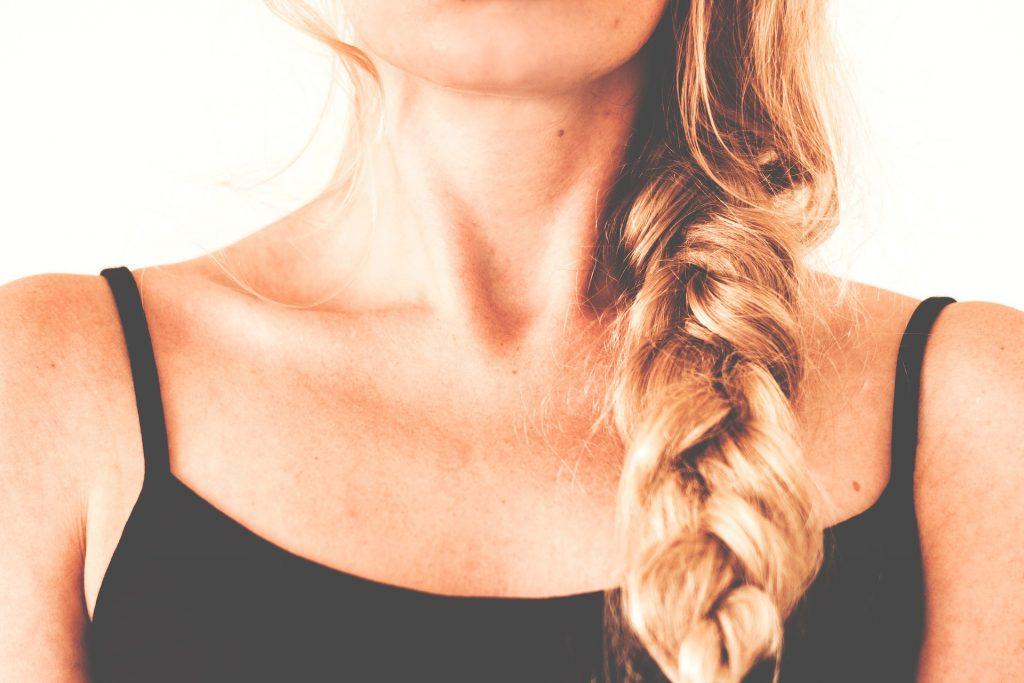 fryzura na lato, łatwa fryzura na lato
