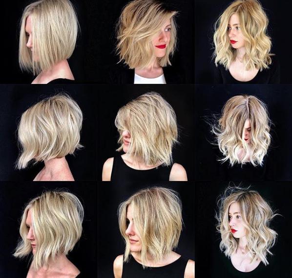 Najnowsze Trendy Fryzur Lob Włosy Do Obojczyka Fryzjer