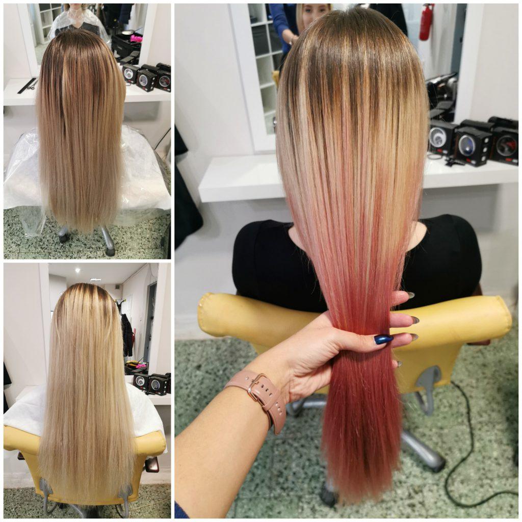 Włosy ombre, koloryzacja ombre, farbowanie sombre